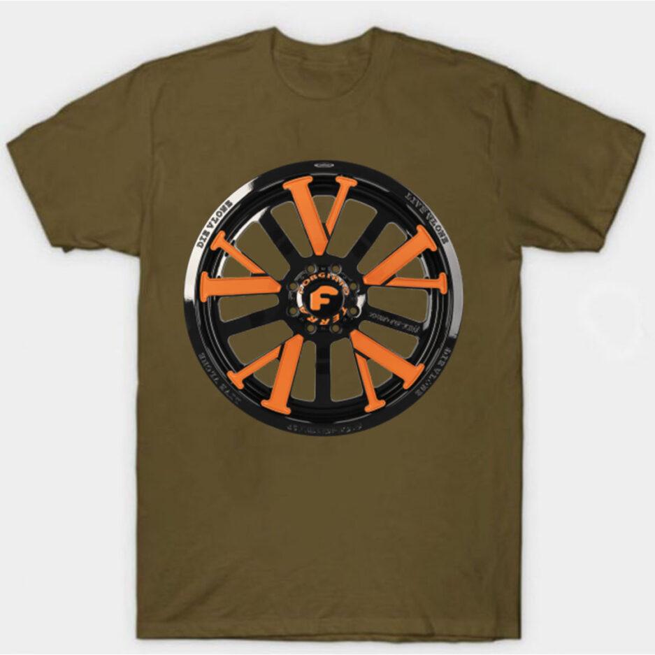 Vlone X Forgiato T-Shirt Brown