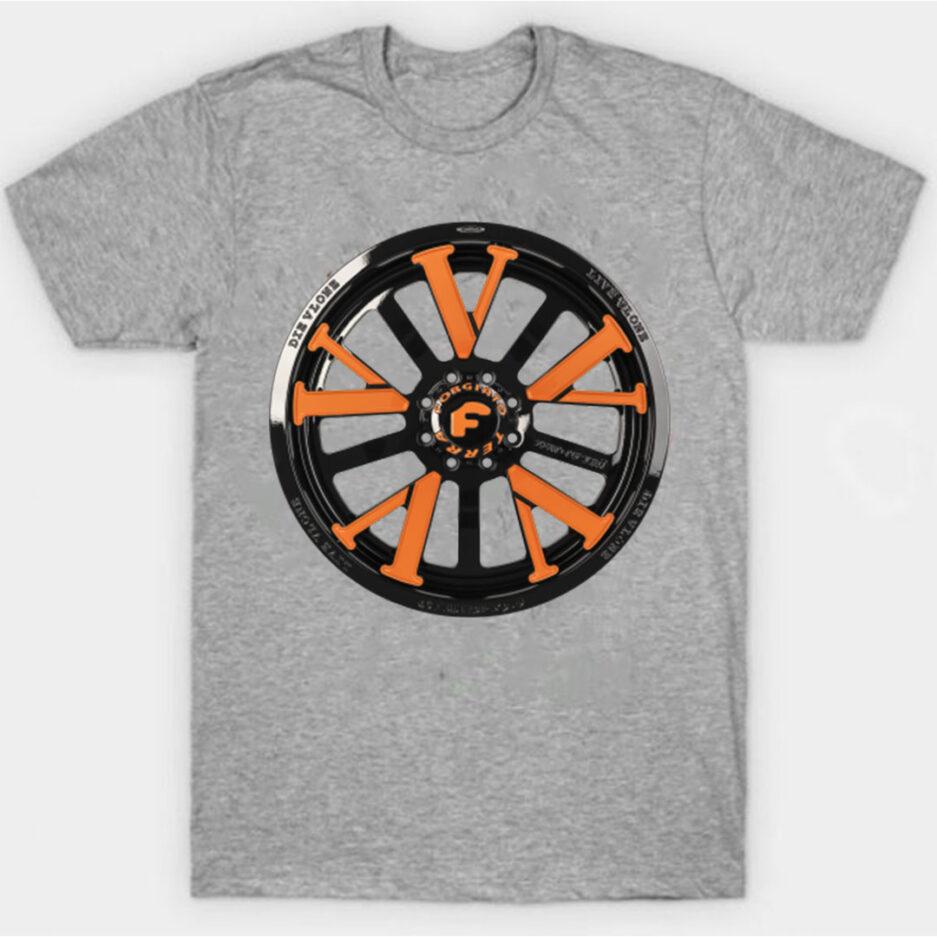 Vlone X Forgiato T-Shirt Gray