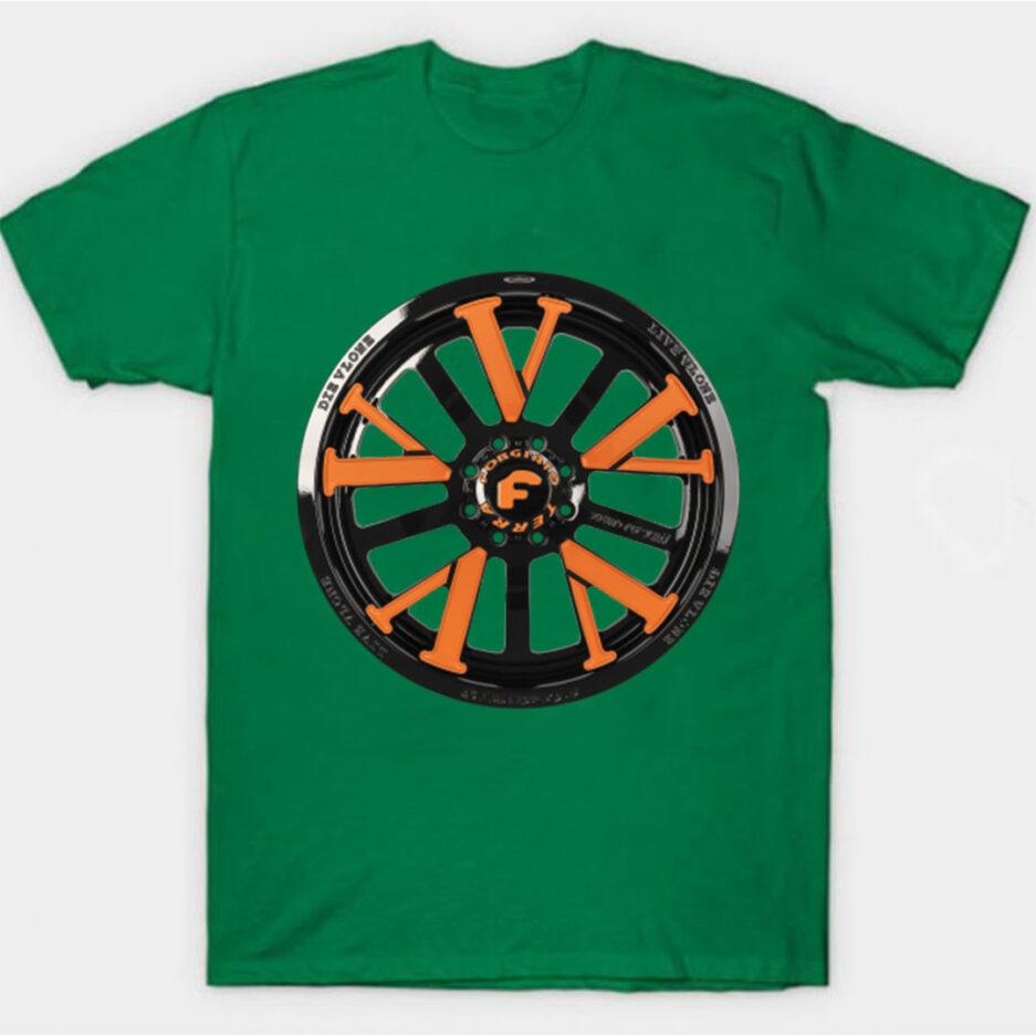 Vlone X Forgiato T-Shirt Green