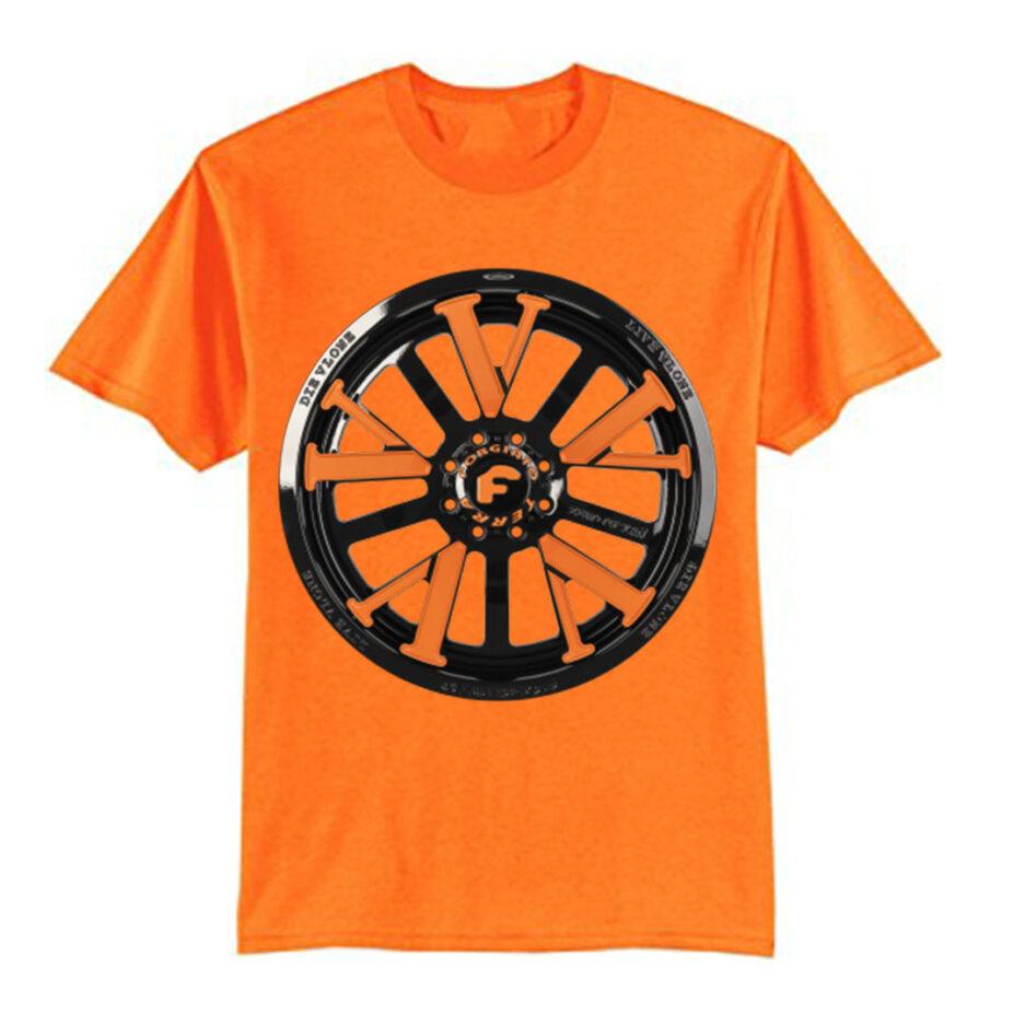 Vlone X Forgiato T-Shirt Orange