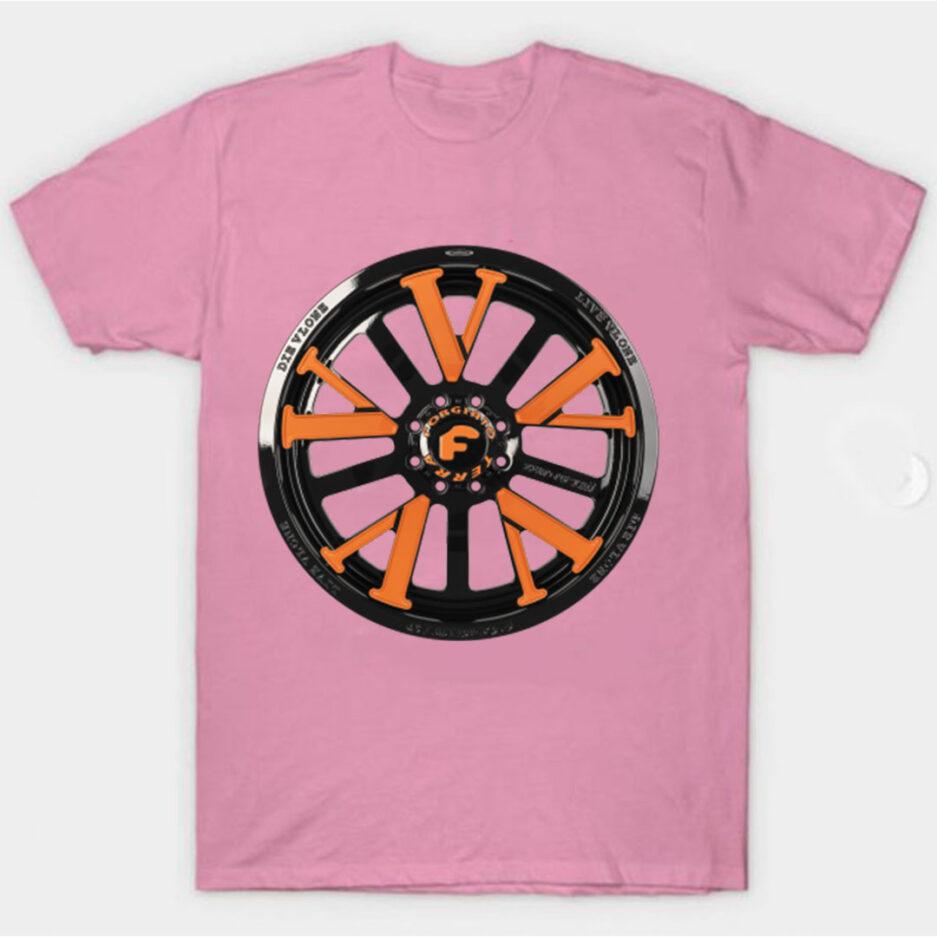 Vlone X Forgiato T-Shirt Pink