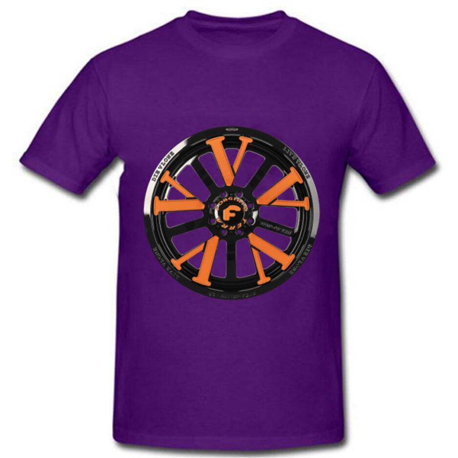 Vlone X Forgiato T-Shirt Purple