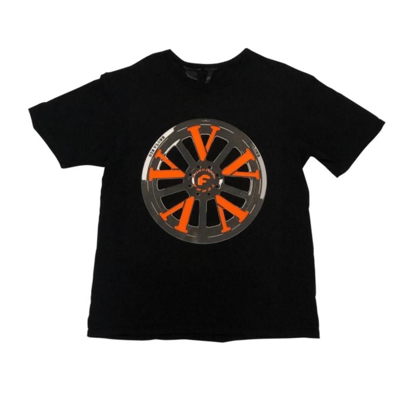 Vlone X Forgiato T-Shirt White Back Black