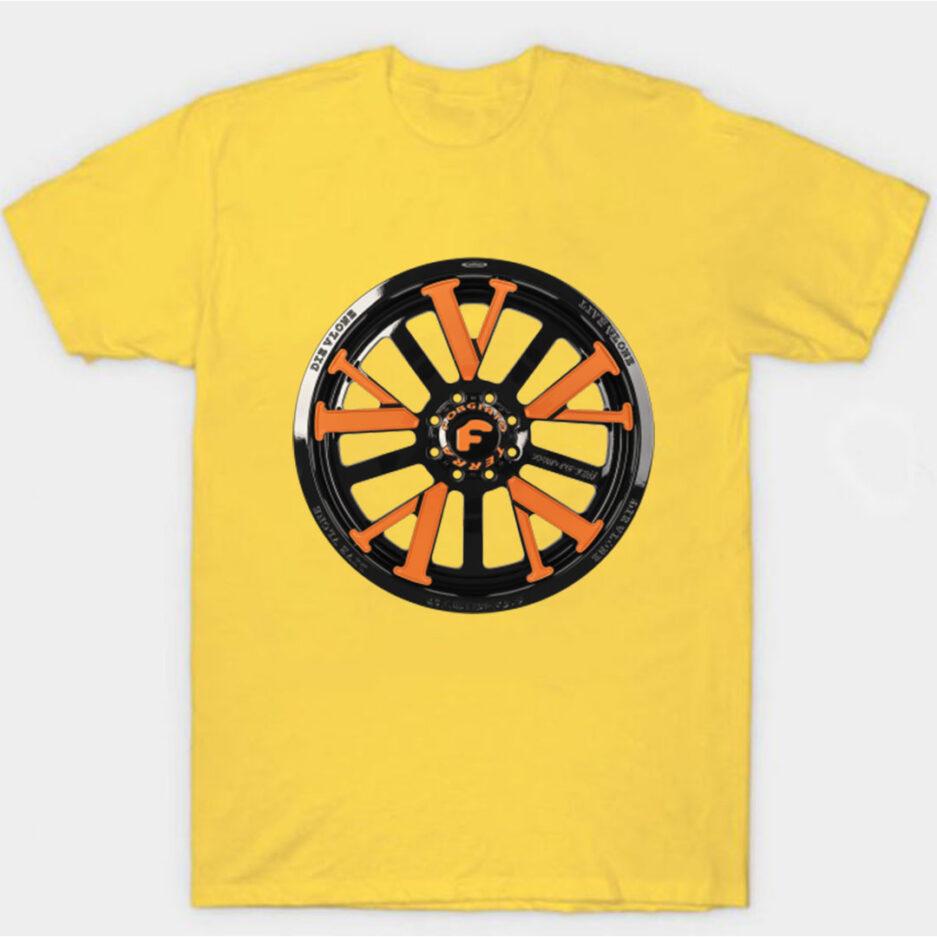 Vlone X Forgiato T-Shirt Yellow