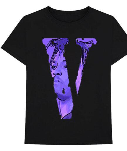Juice Wrld X Vlone Legends Never Die T-Shirt Black