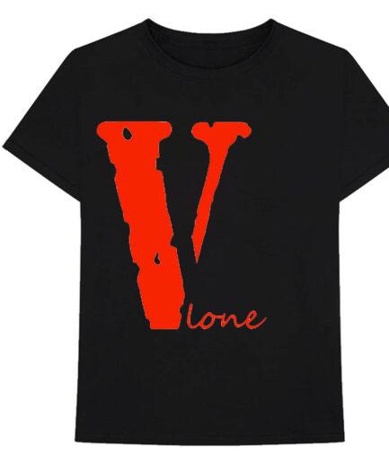 V Lone T-Shirt Black