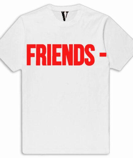 VLONE Camo Friend Shirt White