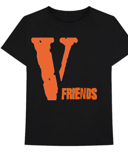 VLONE V Friends Tee Front Shirt Black