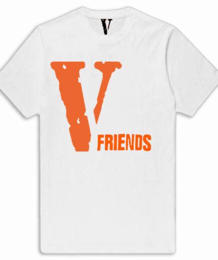 VLONE V Friends Tee Front Shirt White