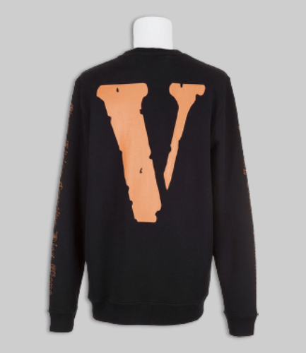Vlone X OFF-WHITE Black Long Sleeve