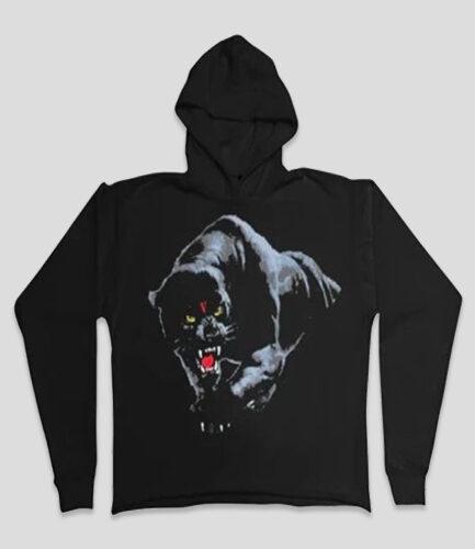 Vlone Black Panther Black Hoodie