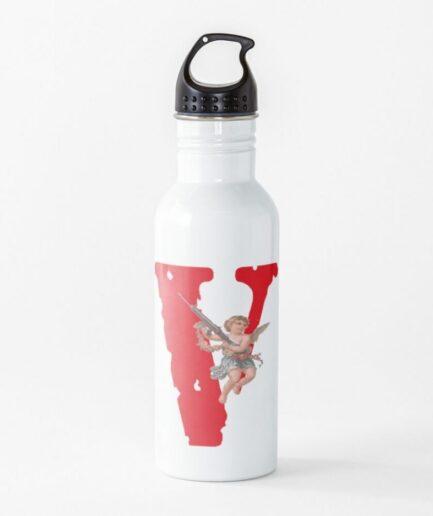 Vlone Logo Baby Angel White Water Bottle