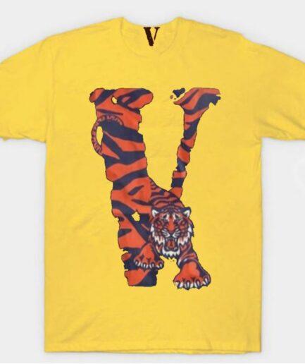 Vlone Tiger Shape T-Shirt