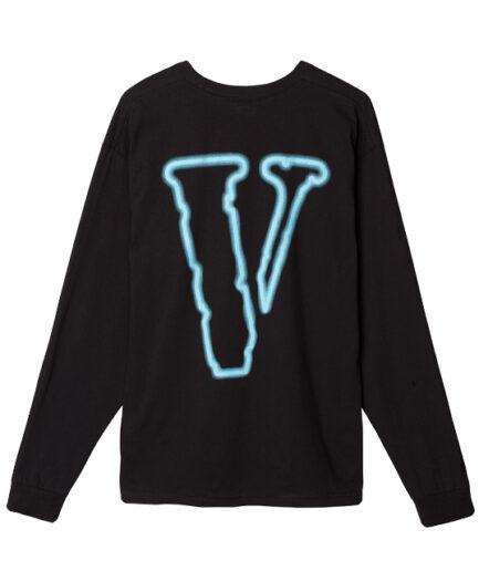The 'VLONE VACANCY' WAY Long Sleeve - Black (Back)