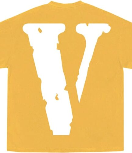YoungBoy NBA x Vlone Peace Hardly Yellow Tee ( Back )