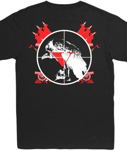 Kodak Black x Vlone 47 Black T-Shirt (Back)