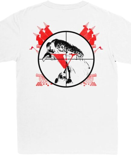 Kodak Black x Vlone 47 White T-Shirt (Back)