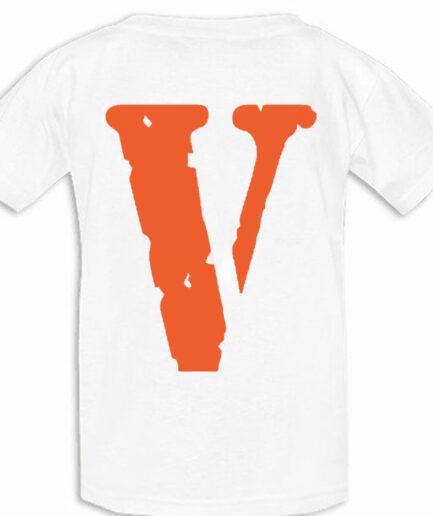 Live Vlone Die Vlone T-Shirt White (Black)