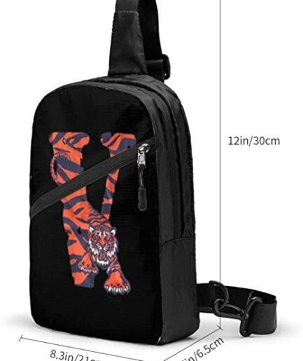 V-Lone Tiger Shape Sports Fitness Backpack (2)