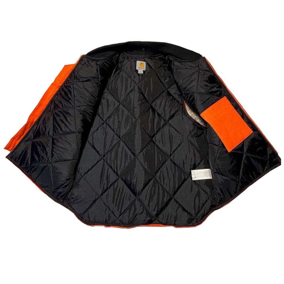 Vlone Carhartt Vest - Orange (Detail 01)