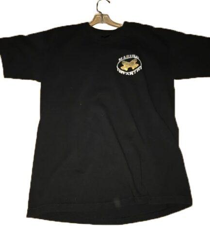 Vlone x Marino Infantry Diamond Black T-Shirt - Silver (Front)