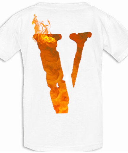 Vlone x Tupac ME AGAINST the world White T-Shirt (Back)