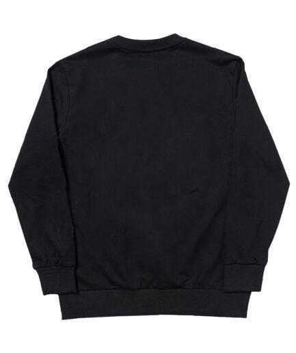 Corpse Husband Miss You! Crewneck Sweatshirt - Black (Back)