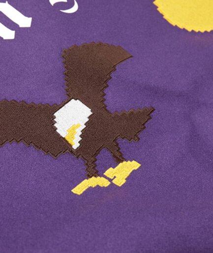Palm Angels New Folk Varsity Jacket (Detail 4)