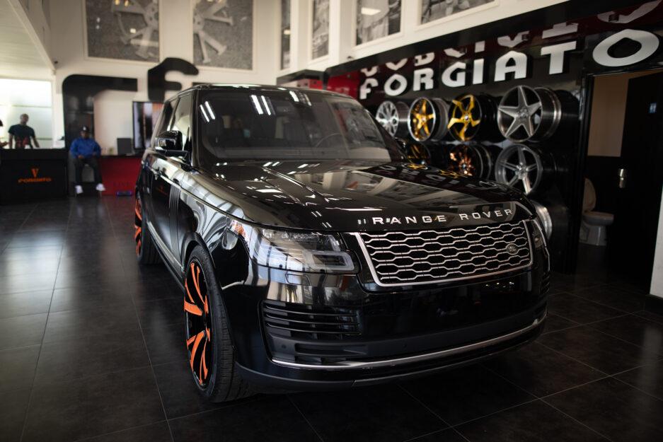 Range Rover Forgiato Custom Wheel 2